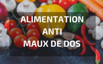 Comment Soulager le Mal de Dos par l'Alimentation ?