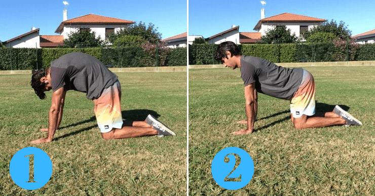 exercice dos rond dos creux