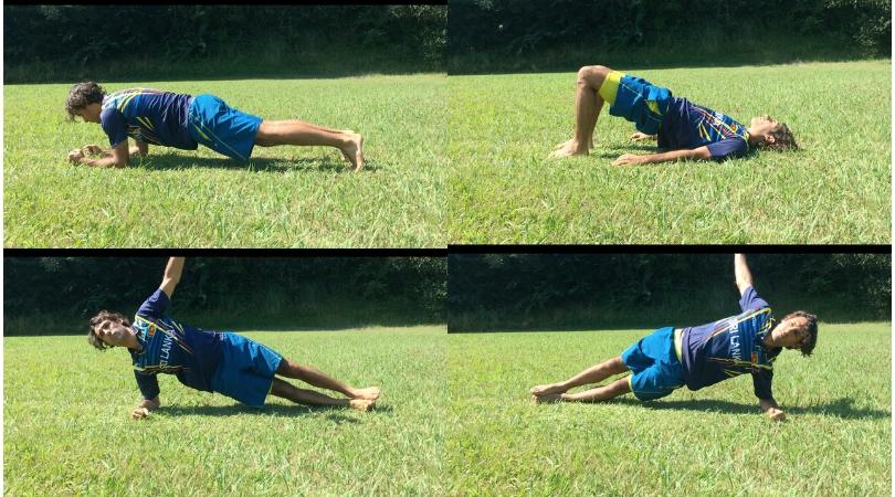 muscler son dos avec gainage