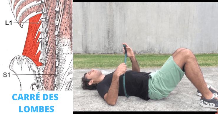automassage carré des lombes