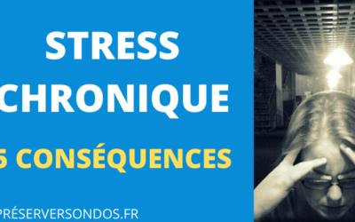 Comment le STRESS CHRONIQUE peut nuire à votre santé : 5 Conséquences