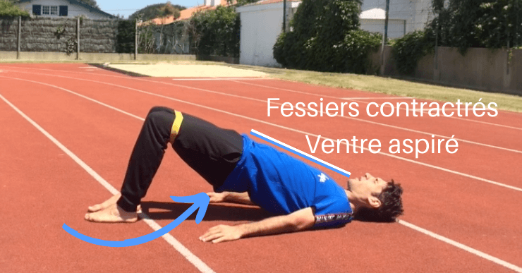 mal aux lombaires exercice